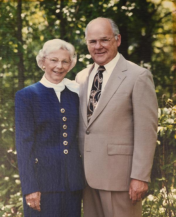 Mr.& Mrs. Niezing