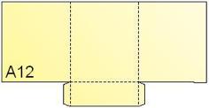 Pocket Folder A12
