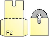 CD/DVD Holder F2